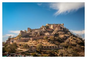 Kumbhalgarh, second longest wall in the world - Rajasthan, India - a world heritage site.