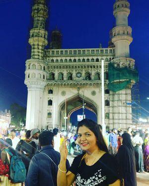 Hyderabad Ko Salam #besttravelpicture #jetairway #triptocommunity
