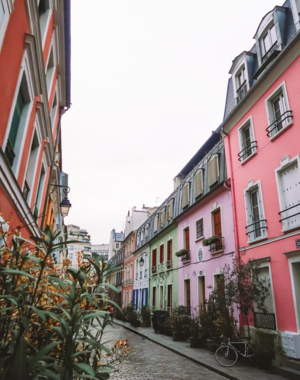 Have you been to this Cotton Candy street in Paris?
