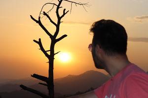 Dharamshala Sunset #BestTravelPictures #BestTripEver