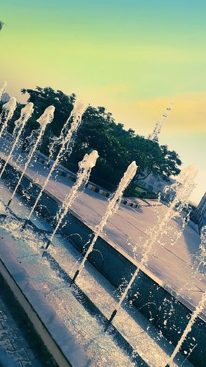 """Morning in University be like water """"PURE"""" ❤"""