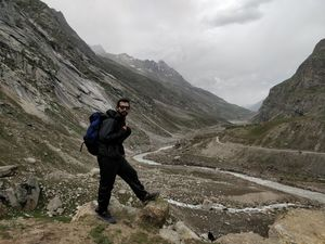 Walking by the snowfed rivers. Such a bliss! #BestTravelPictures #triptocommunity