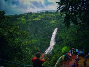 Captured this beautiful waterfall near Satara,India.