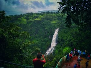 Captured this beautiful waterfall near Satara. Found the pleasant natural frame. #BestTravelPictures