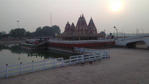 Awsomes climate in kurukshetra hariyana kishna temple blessing place ???????? #besttravelpictures