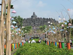 A Sense of Divine Serenity .. The Borobudur Temple