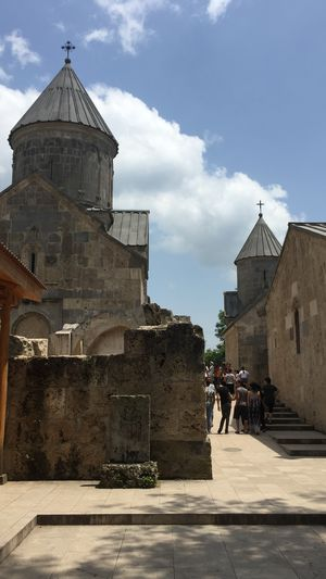 A walk through the monastery . ♥️