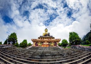 Ask the community  The Buddha Park of Ravangla, also known as Tathagata Tsal in Sikkim