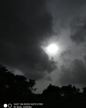 No Edits No Filters....its just a click...! Very rear you could see this time (5:05 pm) like this.