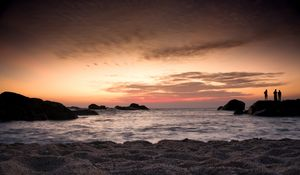 The southern tip of India. Incredible to witness sunset at the lands end.