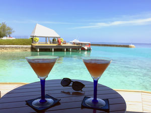 Fresh Air, Blue Waters & a Cosmo to sip! @tripotocommunity