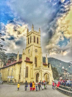 Church of Christ in Shimla, Himachal Pradesh  #TripotoTakeMeToGoa @tripotocommunity