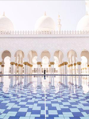 majestic sheikh zayed mosque (abu dhabi)