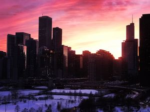 Chicago Skyline @tripotocommunity