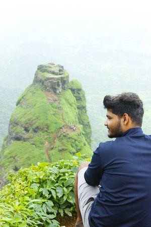 View from the top of Prabalgad of kalavantin ????#tripotocommunity
