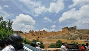 A Glimpse into the days of old. Amer Fort, Jaipur #BestTravelPictures