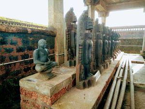 Chaturmukha basadi & Gomateshwara Statue