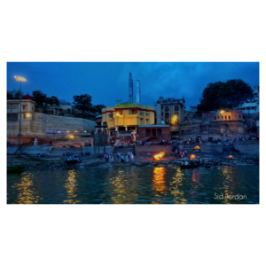 The ghats of benaras are always blazing with history and culture. ????