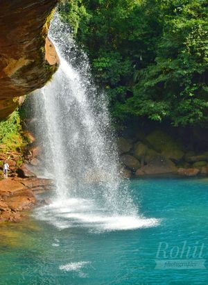 krangsuri waterfall with its pristine clear blues green water is a must visiyin meghay!