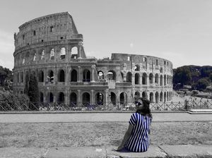 While in Rome act like a Roman #colosseum