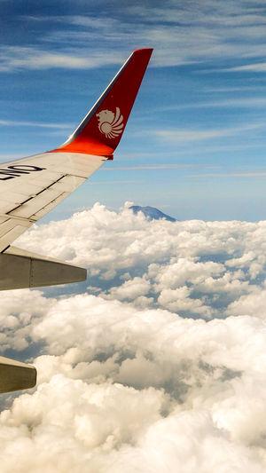 Mt. Agung (Volcano) hidden behind the clouds. #besttravelpictures