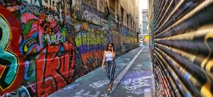 Melbourne Graffiti Street