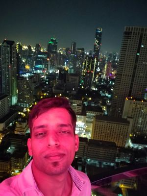 #SelfieWithAView #TripotoCommunity  Structures do not interest me , but this view did mesmerise me.