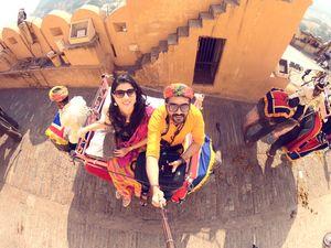 Colourful Rajastan!  #SelfieWithAView #TripotoCommunity
