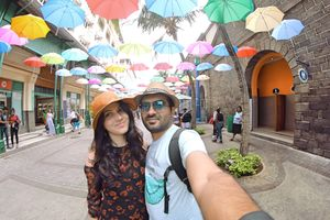 The Umbrella Street!  #SelfieWithAView #TripotoCommunity