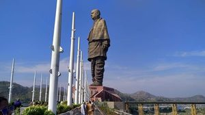 The majestic Statue of Unity is a sight of pride and joy for all Indians. The spectacular view.