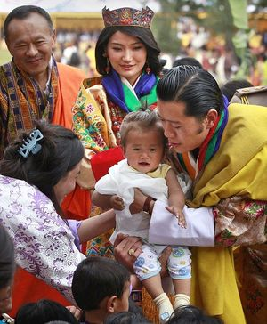 Why Bhutanese Are Fond Of Royal Family-Crazy Wanderer