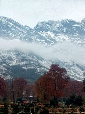 Kashmir!!! Where i Experienced Autumn, rainfall and snowfall. That too in November.