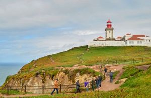 #BestTravelPictures the breathtaking view of Cabo da Roca, the most western point of europe