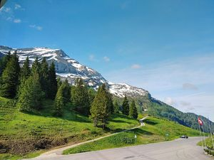 Plenty of greenery, beautiful mountains, pure air in Swiss Alps.. #BestTravelPictures @tripotocommun