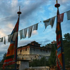 Paro Dzong, Bhutan (Clicked in evening) Happiness is a place #BestTravelPictures #tripotocommunity