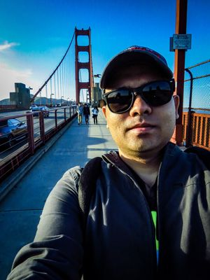 #SelfieWithAView #TripotoCommunity A walk in SFO without visiting GGB is incomplete!!