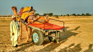 #BestTravelPictures Jaisalmer sand dunes... the Golden city of india!