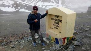 Snow at Baralacha-Pass