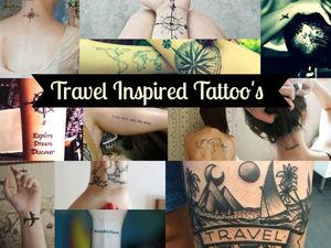 ट्रेवल टैटू का क्रेज़ BEST TRAVEL TATTOO. #BESTOFTRAVEL