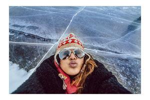 Frozen lake. Frozen dreams.