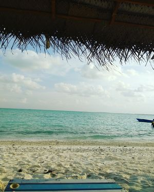 Serene clean blue lagoons.... Minicoy islands