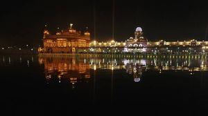 Sri Harmandir Sahib, famously known as the Golden Temple.
