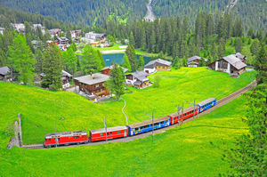Switzerland - A paradise on earth !!