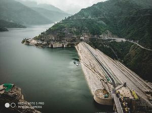 Tehri Dam day and night
