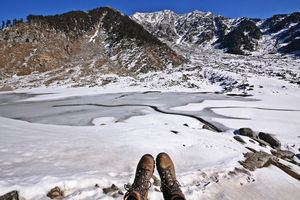 How I swiped right to find 'somebuddy' for the Winter Kareri Lake Trek