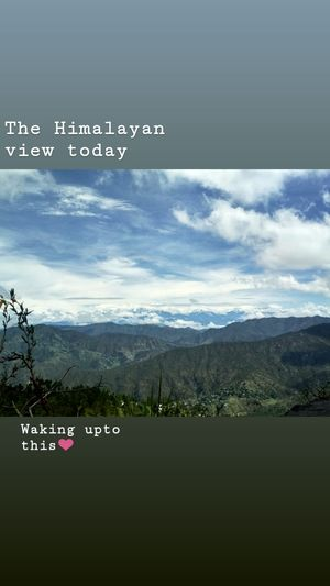 My volunteering journey landed me to a beautiful place kasar devi (Almora)