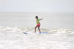 Surfing in India: Catching waves at Mantra Surf Club!