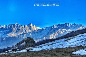 Witness the snowfall- Come To Auli