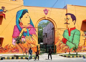 Welcome Amazing Art On Walls : Lodhi Art District