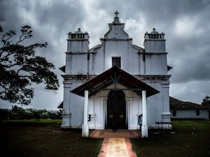 Enjoy visiting haunted places? Visit Three Kings' Church in Goa #offbeatgoa
